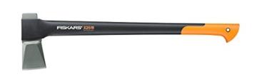 Fiskars Spaltaxt X25, Mehrfarbig, Länge: 72 cm, altes Modell -