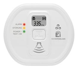 Ei Electronics Ei208D 10-Jahres-Kohlenmonoxidwarnmelder, 1 Stück -
